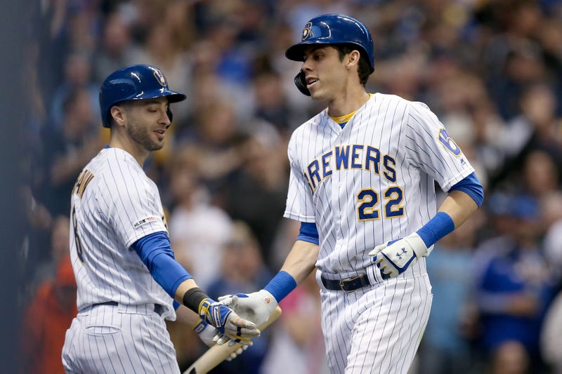 Ryan Braun and Christian Yelich are part of a high-powered Brewers offense.