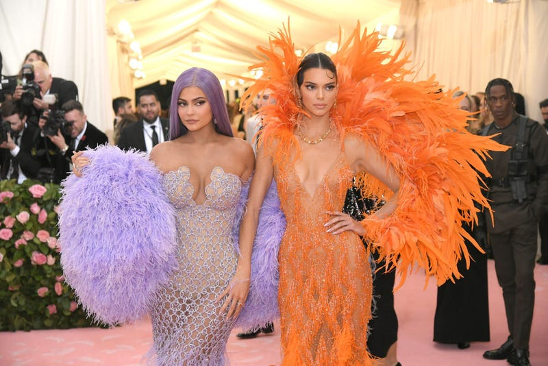 Kylie Jenner and Kendall Jenner attend The 2019 Met Gala Celebrating Camp: Notes on Fashion at Metropolitan Museum of Art on May 06, 2019
