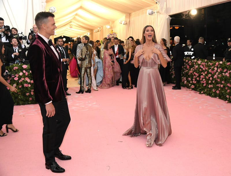 tom brady and gisele bundchen at the 2019 met gala