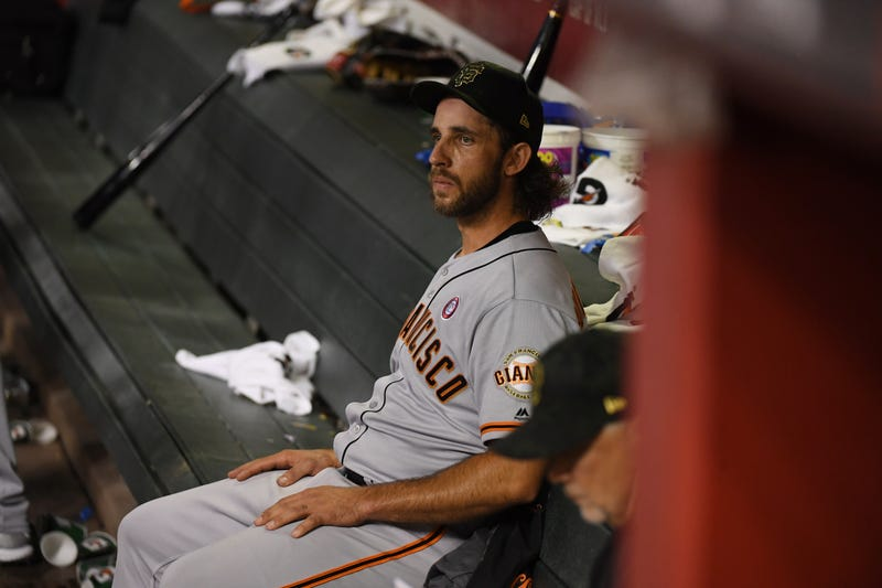 Madison Bumgarner is a three-time World Series Champion.