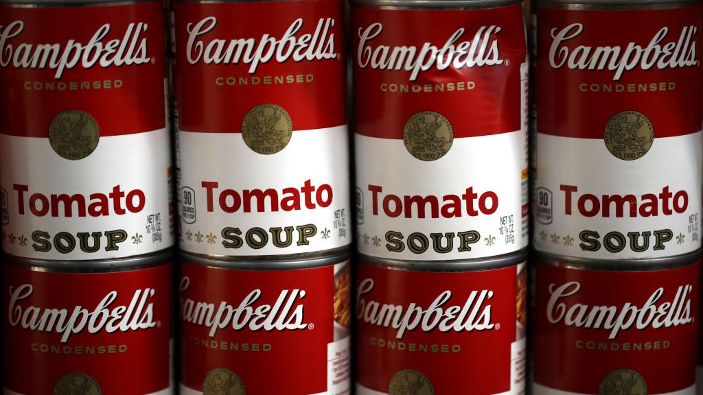 Campbell's changes soup can for first time in 50 years