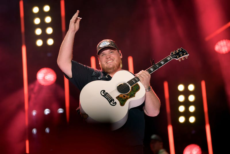 Luke Combs performs on stage during day 3 of the 2019 CMA Music Festival on June 08, 2019 in Nashville, Tennessee. (Photo by Jason Kempin/
