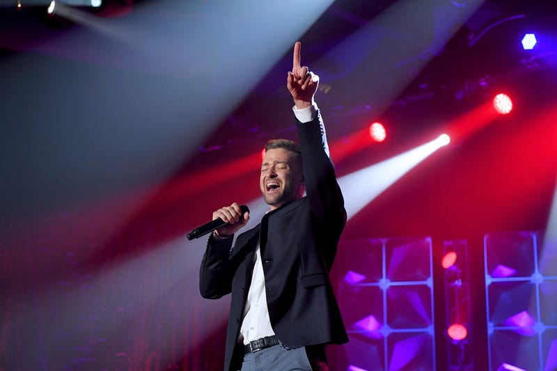 Justin Timberlake, B101 Philly, Philadelphia, Song Writers Hall of Fame, Featured Artist