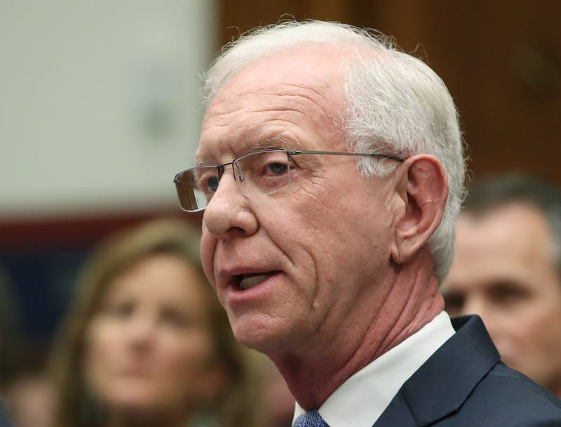 """Retired airline Captain Chesley """"Sully"""" Sullenberger, testifies during a House Transportation and Infrastructure Committee hearing on June 19, 2019 in Washington, DC. The committee heard testimony from officials in the airline industry regarding the status of the grounded Boeing 737 MAX."""