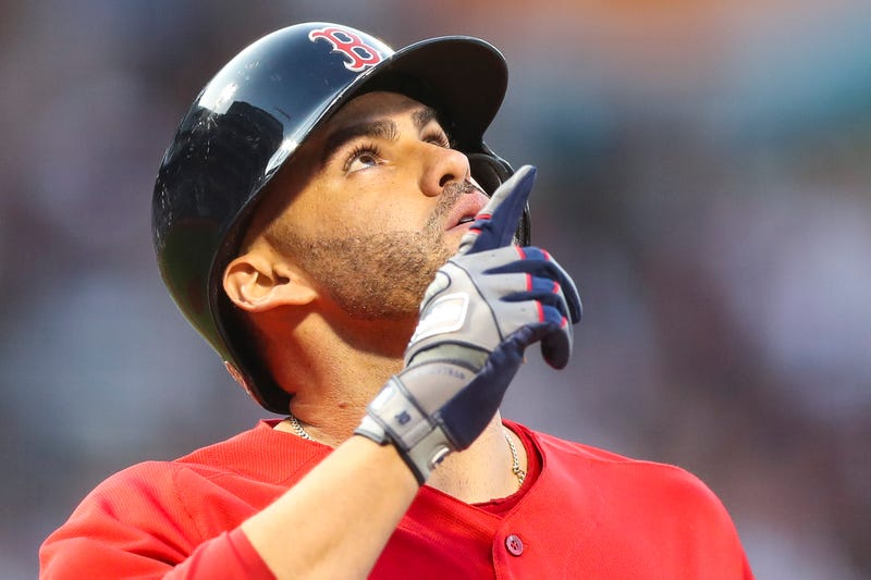 J.D. Martinez can opt-out of his contract this offseason.