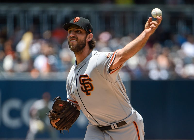 Could Madison Bumgarner join the division-rival San Diego Padres?