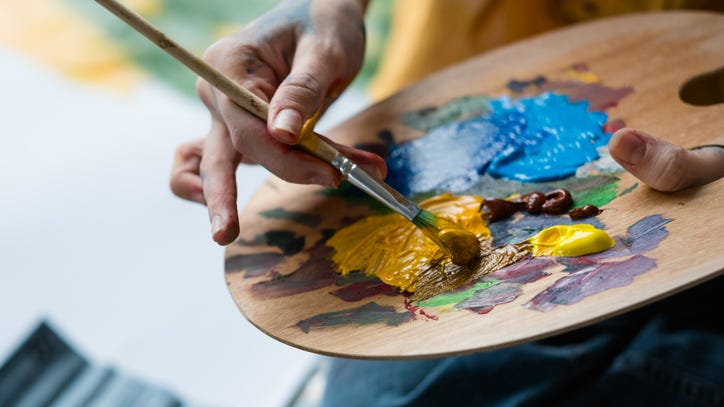 How creating art can help improve mental health during the pandemic