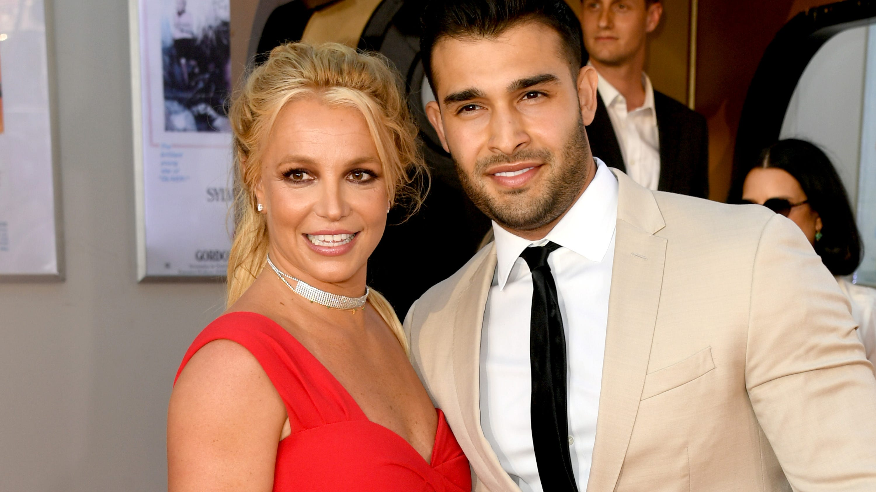 Britney Spears shows off engagement ring from Sam Asghari: 'I can't f***ing believe it'
