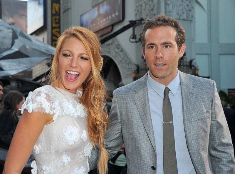 blake lively and ryan reynolds at the hollywood premiere of green lantern in june 2011