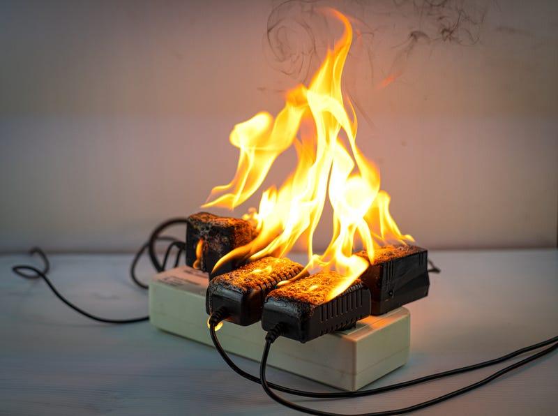 short circuit fire