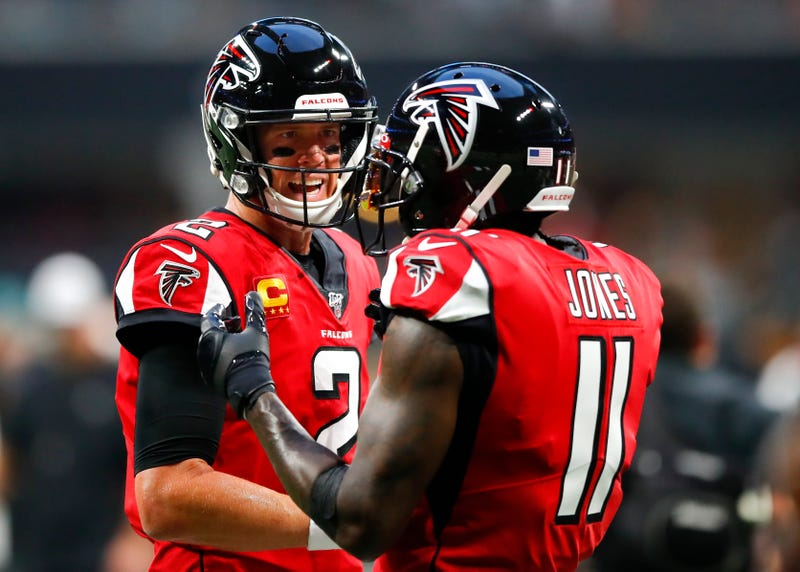 Matt Ryan and Julio Jones are both likely at the back-end of their careers with the Falcons.