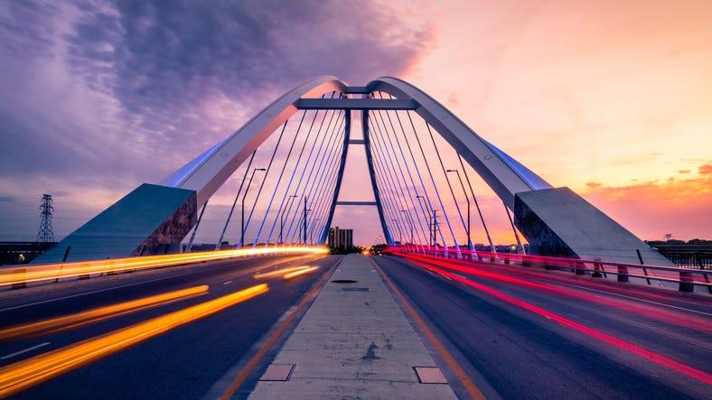 Lowry Bridge in Minneapolis, Minnesota