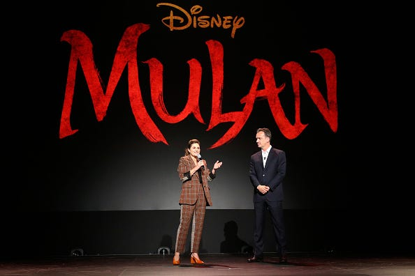'Mulan' premiere