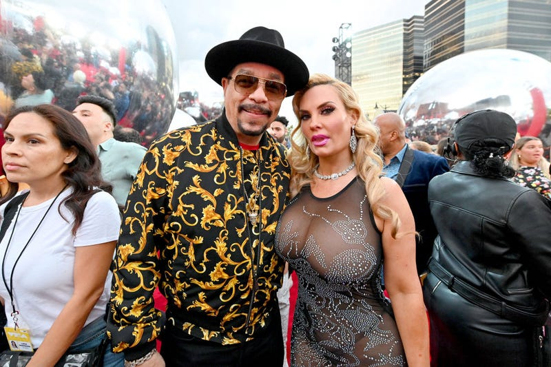 ice-t and coco at the 2019 vmas