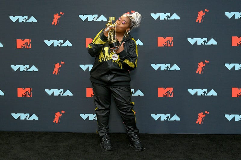 missy elliott at 2019 vmas press room