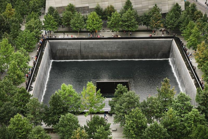 Vista aerea del WTC memorial torre sur