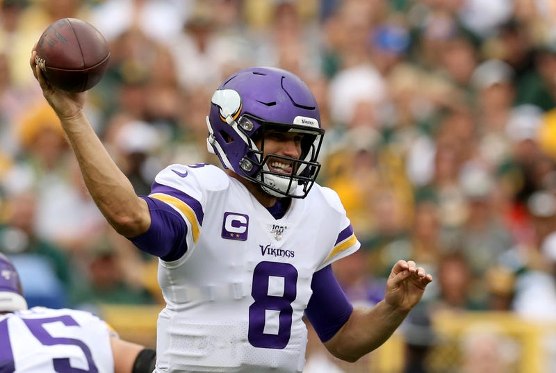 Kirk Cousins struggled in a key game Sunday for the Vikings.