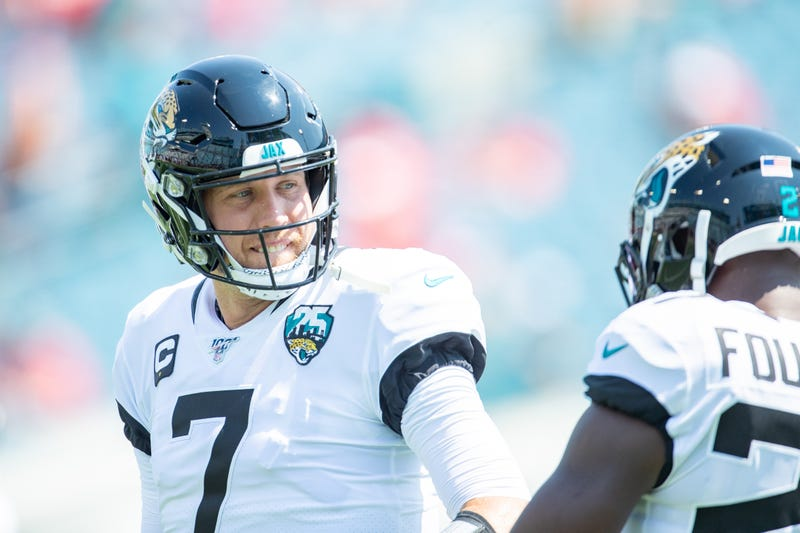 Nick Foles will return for the Jaguars this week.