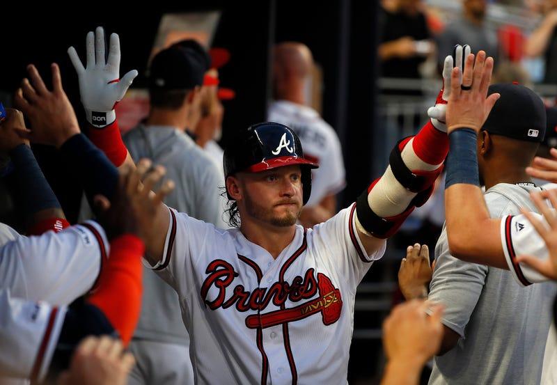 Josh Donaldson had a big season for the Braves in 2019.