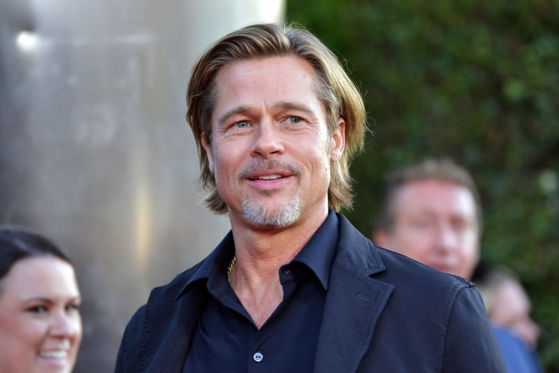 brad pitt at the los angeles premiere of his new film ad astra