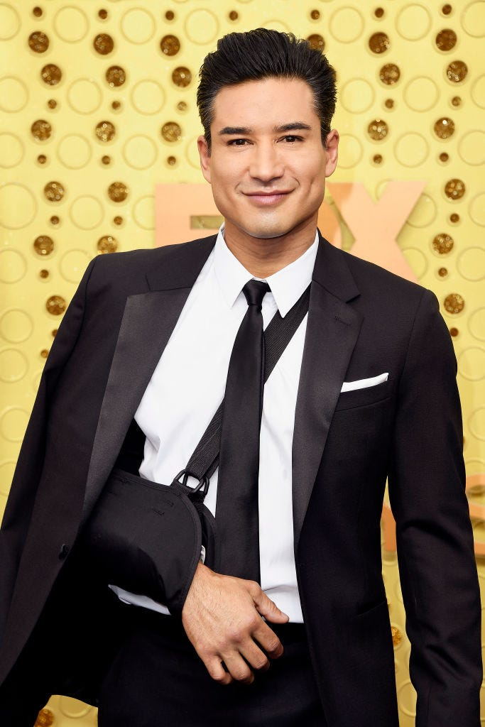 Mario Lopez arrives to the 2019 emmy awards