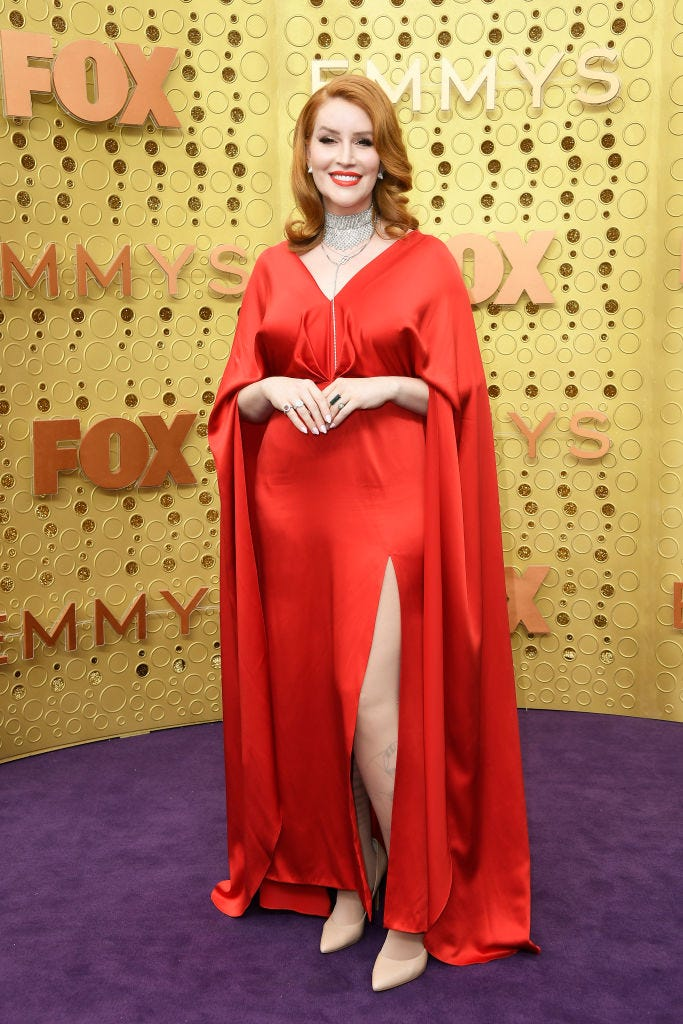 our lady j shows up to 2019 emmy awards