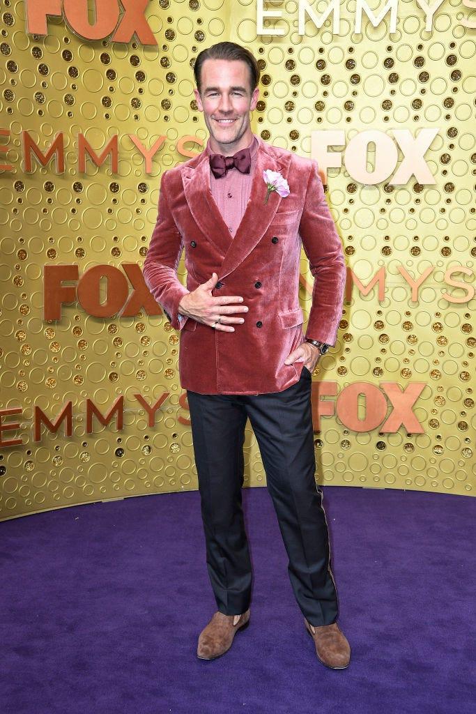 james van der beek at the 2019 emmy awards