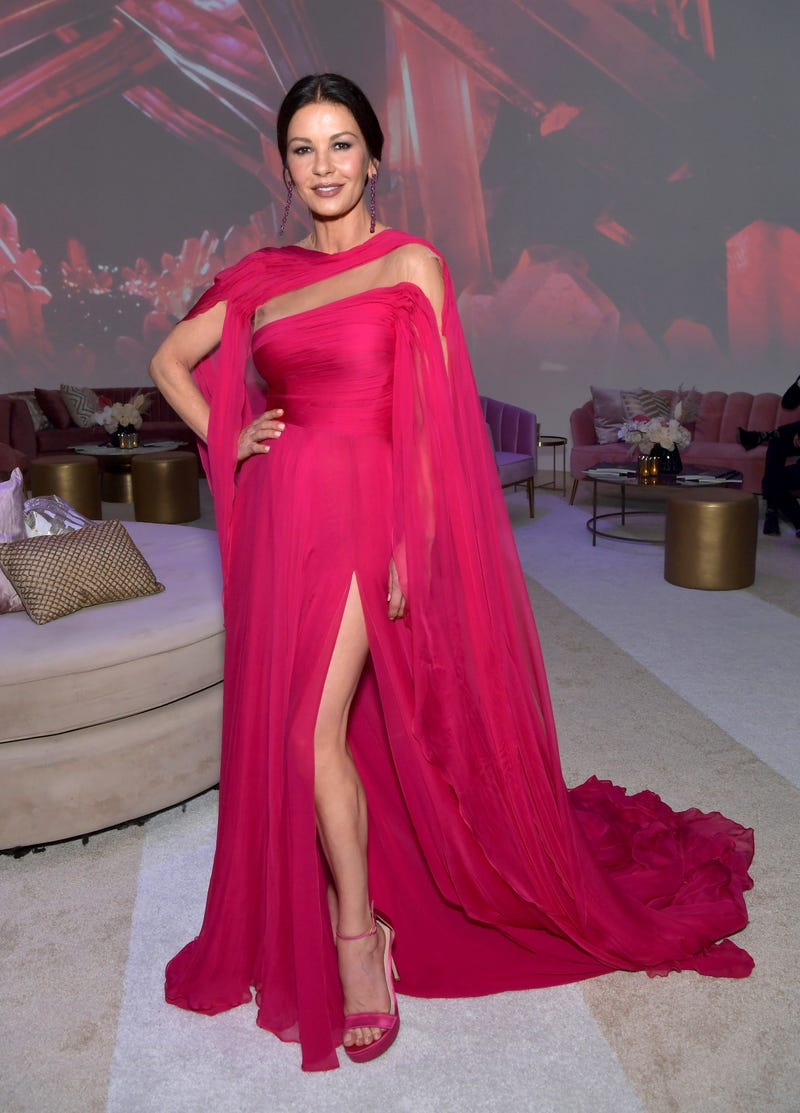 catherine zeta jones at the 2019 emmy awards