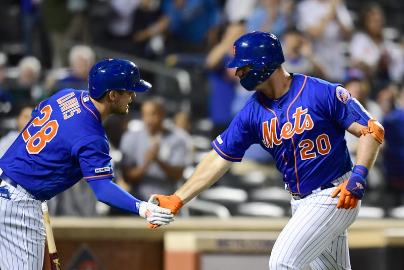 J.D. Davis and Pete Alonso