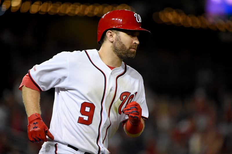 Brian Dozier won the 2019 World Series with the Nationals.
