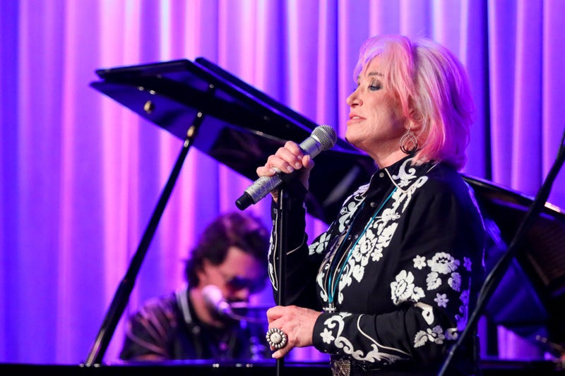 Shooter Jennings and Tanya Tucker perform at The Drop: Tanya Tucker at the GRAMMY Museum on October 03, 2019