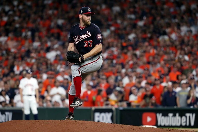 Stephen Strasburg was dominant in Game 6 of the 2019 World Series.