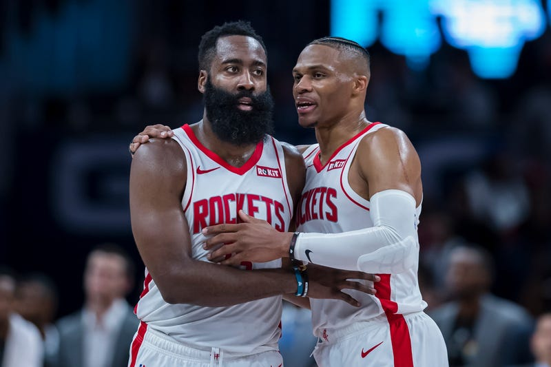 James Harden and Russell Westbrook will play against the Golden State Warriors on Christmas.