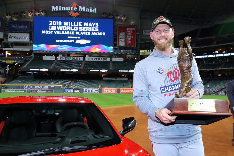 Stephen Strasburg won the World Series MVP in 2019.