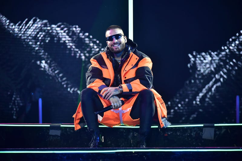 Maluma performs at Madison Square Garden on October 04, 2019 in New York City.