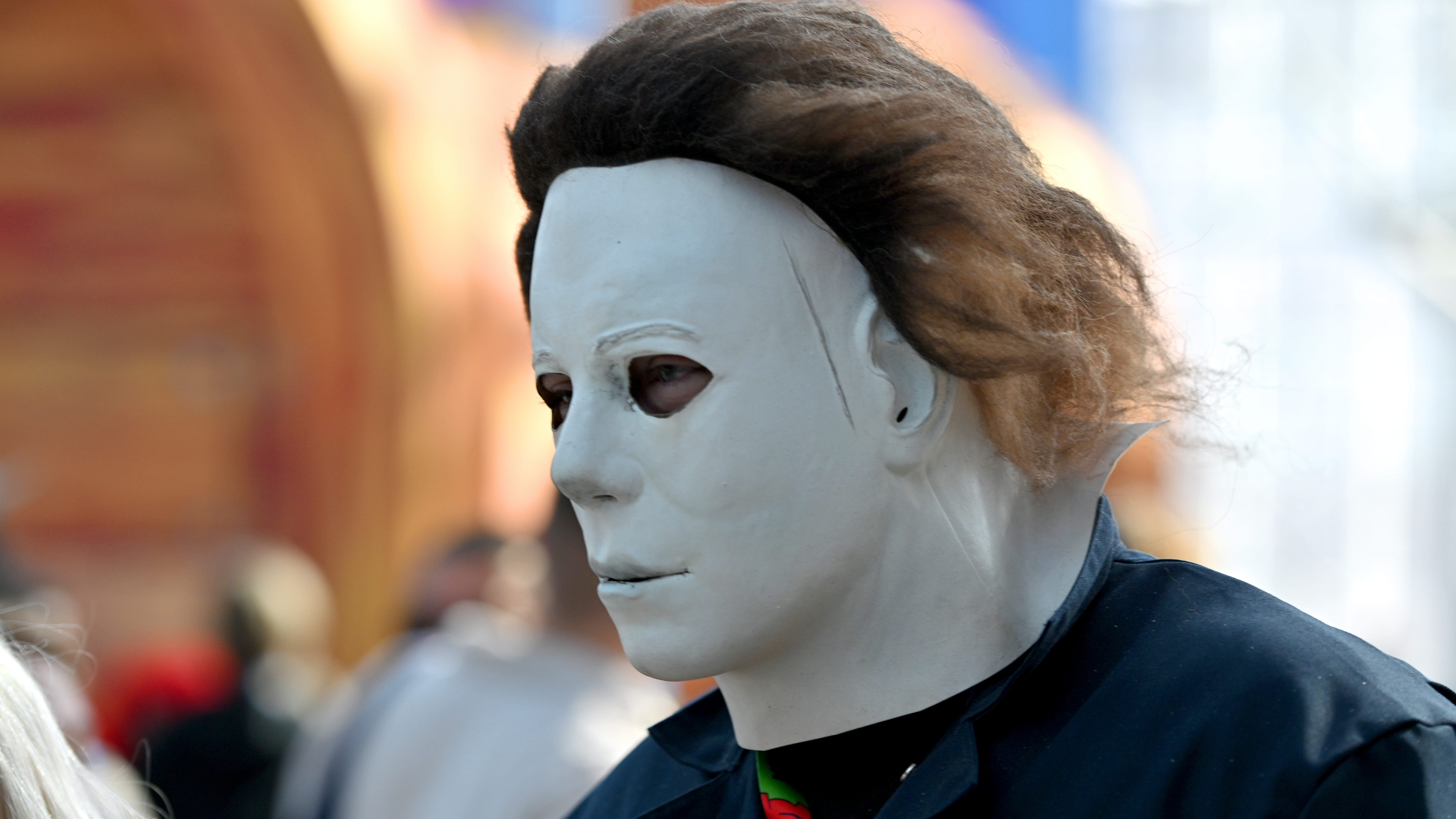 Man dressed like Michael Myers spotted on Galveston beach as storm approached, arrested