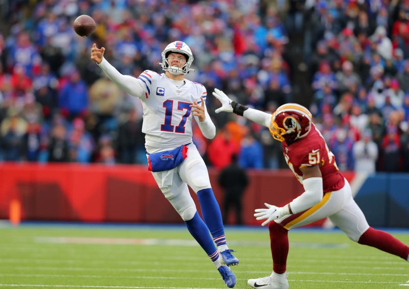 Josh Allen and the Bills bounced back for a win over the Redskins in Week 9.