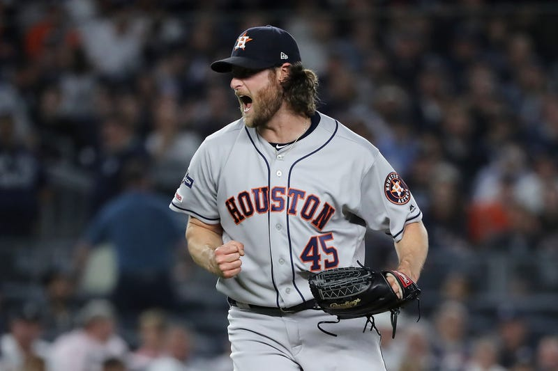 Gerrit Cole and the Astros eliminated the Yankees in the ALCS.