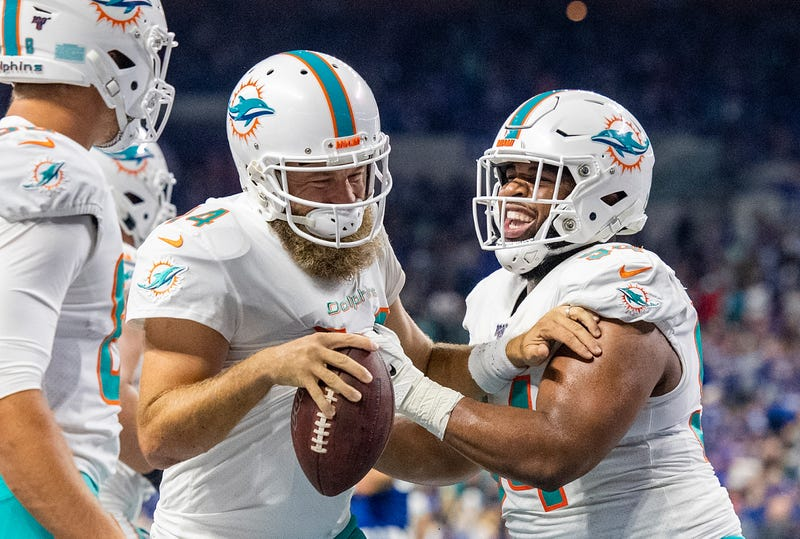 The Dolphins have won back-to-back games.