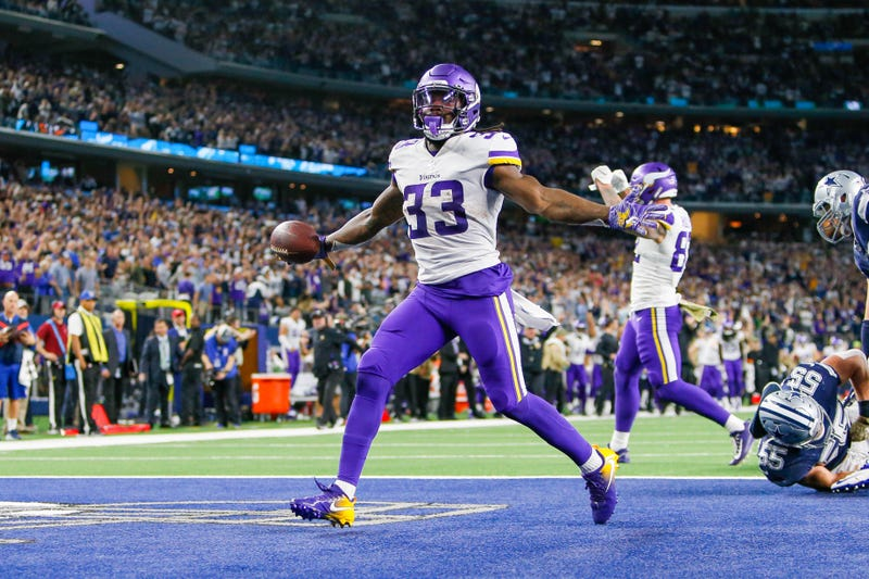 Dalvin Cook and the Vikings defeated the Cowboys in Dallas.
