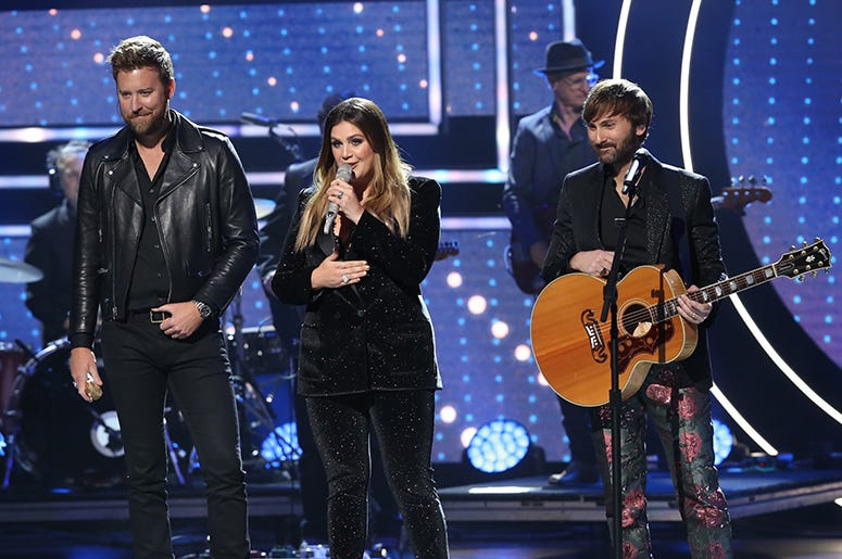 Charles Kelley, Hillary Scott and Dave Haywood of Lady A