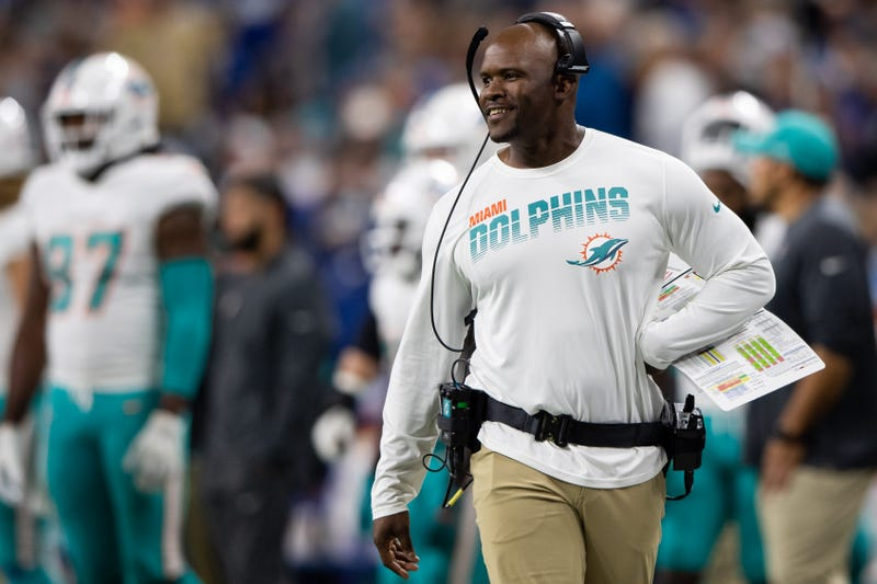 Brian Flores' Dolphins have won back-to-back games.