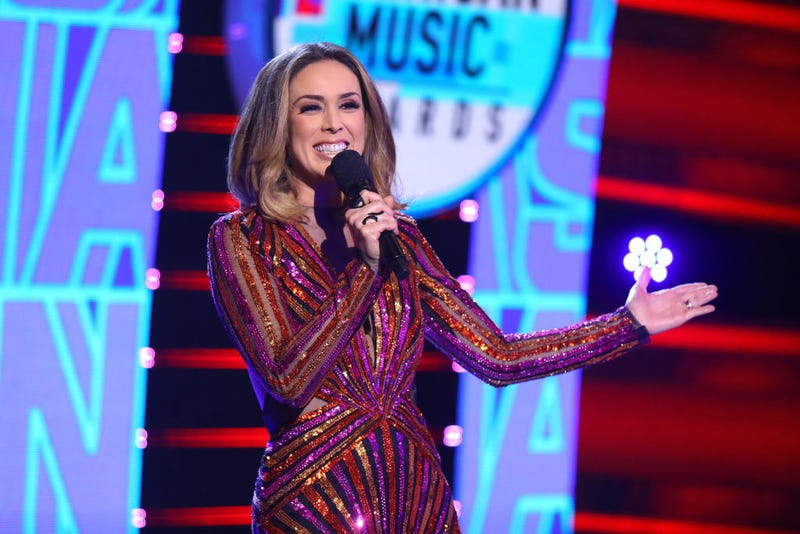 Jacky Bracamontes speaks onstage during the 2019 Latin American Music Awards at Dolby Theatre on October 17, 2019 in Hollywood, California.