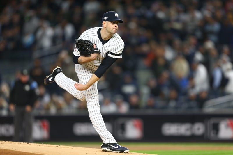 James Paxton delivers to home plate during the 2019 ALCS