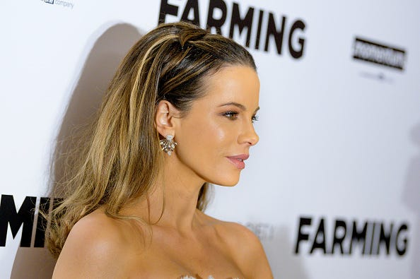 "Actress Kate Beckinsale attends ""Farming"" New York Screening"