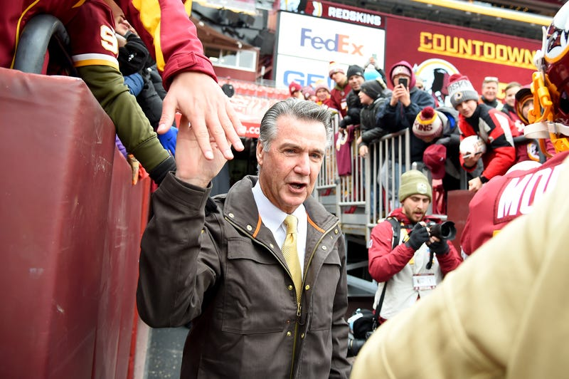 Bruce Allen is the Redskins president.