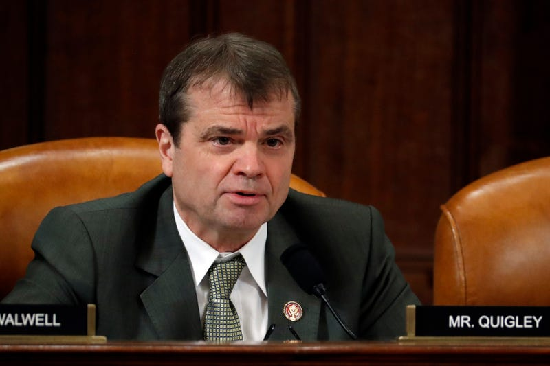 U.S. Rep. Mike Quigley (D-IL) questions Lt. Col. Alexander Vindman, National Security Council Director for European Affairs and Jennifer Williams, adviser to Vice President Mike Pence for European and Russian Affairs during testimony before the House Intelligence Committee in the Longworth House Office Building on Capitol Hill November 19, 2019 in Washington, DC.