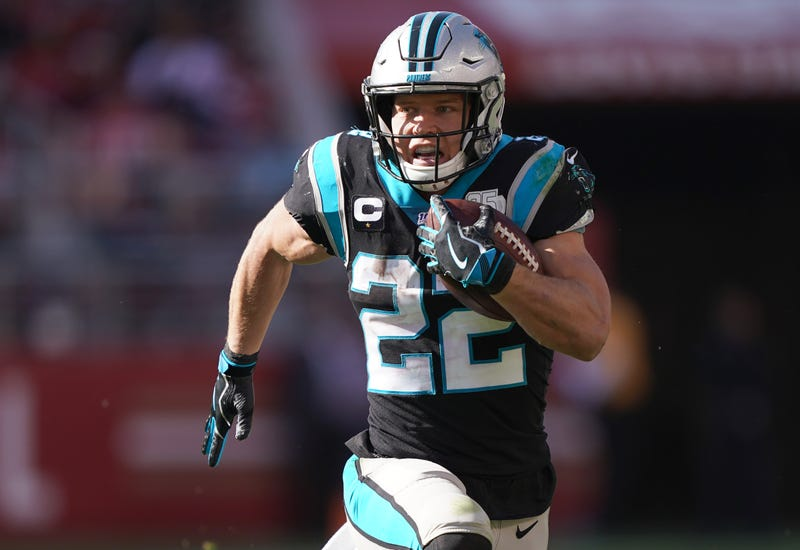 Christian McCaffrey and the Panthers are looking to rebound after a blowout loss.