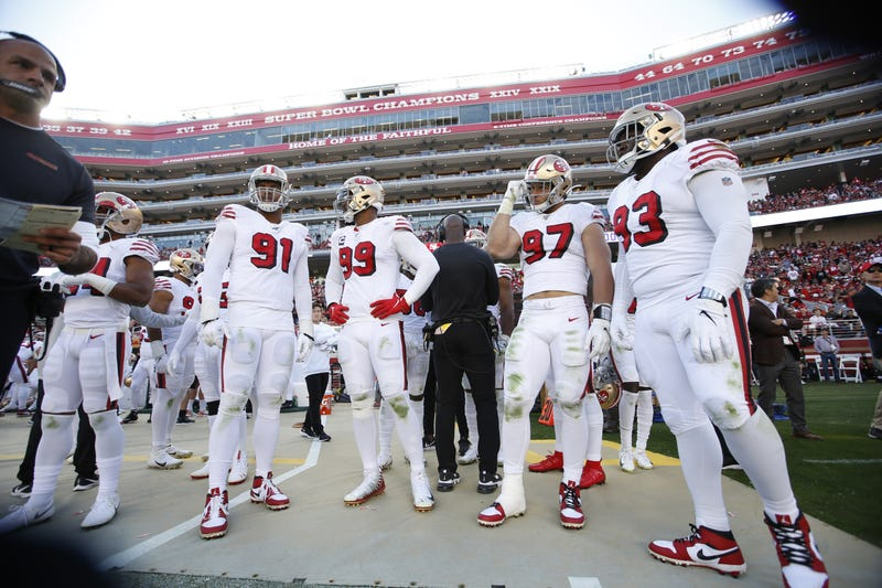 The 49ers defense has led them to a 7-0 start.