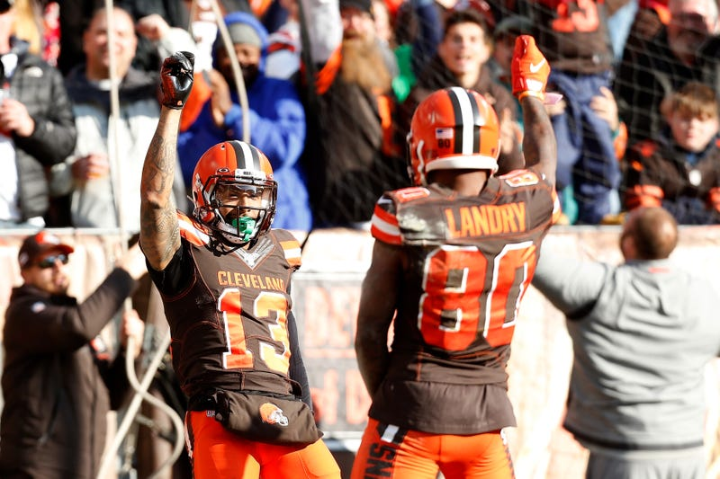 Odell Bekcham Jr. and Jarvis Landry both had touchdowns in Week 12.